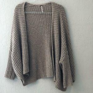 Free People Oversized Sweater, X-Small
